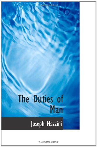 mazzini duties of man