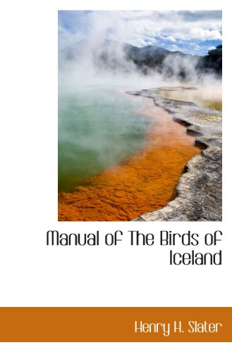 9781110691357: Manual of The Birds of Iceland
