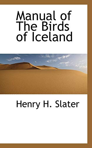 9781110691388: Manual of The Birds of Iceland
