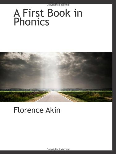 9781110721351: A First Book in Phonics