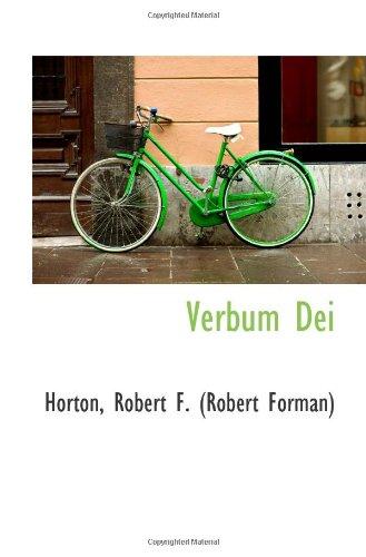 9781110740925: Verbum Dei