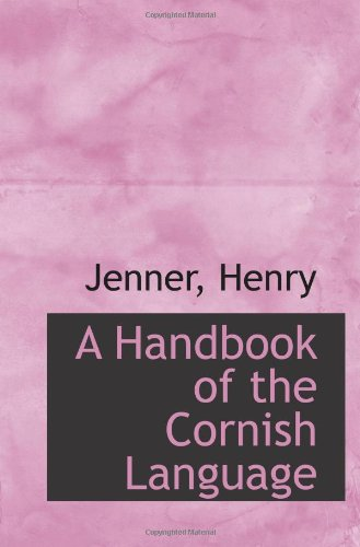 9781110745296: A Handbook of the Cornish Language