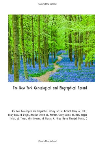9781110748167: The New York Genealogical and Biographical Record