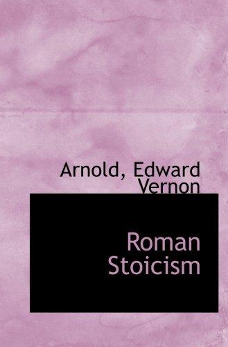 9781110749201: Roman Stoicism