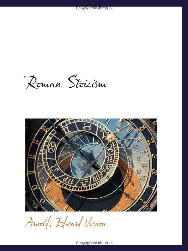 9781110749225: Roman Stoicism