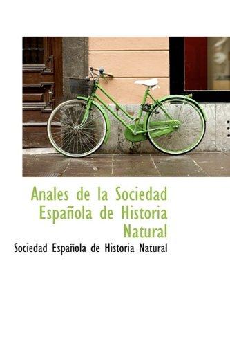 9781110754120: Anales de la Sociedad Española de Historia Natural