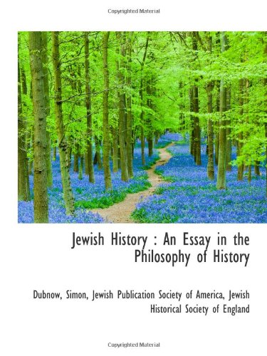 9781110769087: Jewish History : An Essay in the Philosophy of History