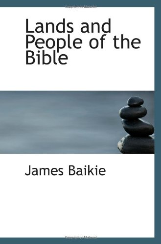 9781110769650: Lands and People of the Bible