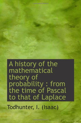 A history of the mathematical theory of: Todhunter, I. (Isaac)