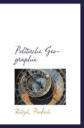 9781110774791: Politische Geographie (German Edition)