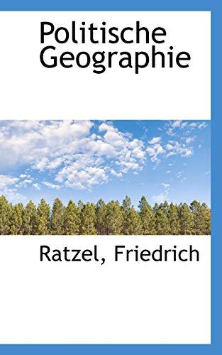 9781110774821: Politische Geographie (German Edition)