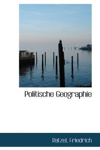 9781110774852: Politische Geographie (German Edition)