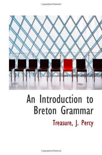 9781110787760: An Introduction to Breton Grammar