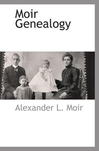9781110813391: Moir Genealogy