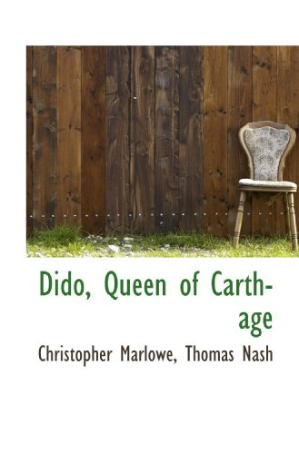 9781110840137: Dido, Queen of Carthage