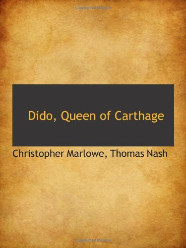 9781110840151: Dido, Queen of Carthage