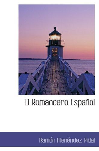 9781110845095: El Romancero Español (Spanish Edition)