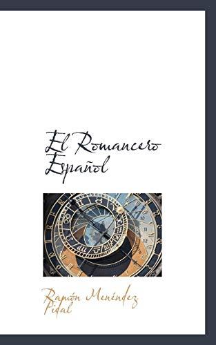 9781110845149: El Romancero Español (Spanish Edition)