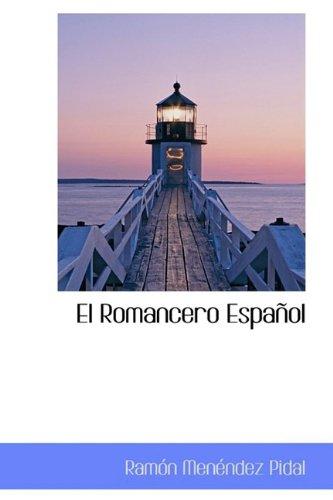 9781110845163: El Romancero Español (Spanish Edition)