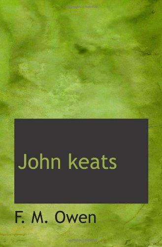 9781110860548: John keats