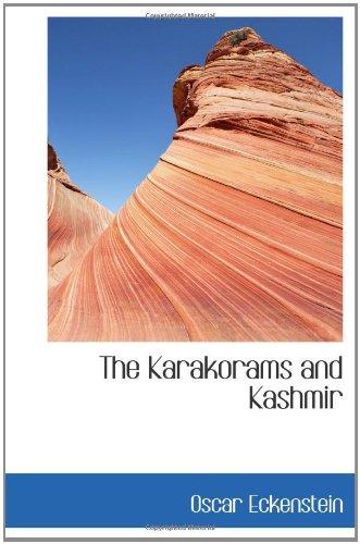 9781110862009: The Karakorams and Kashmir