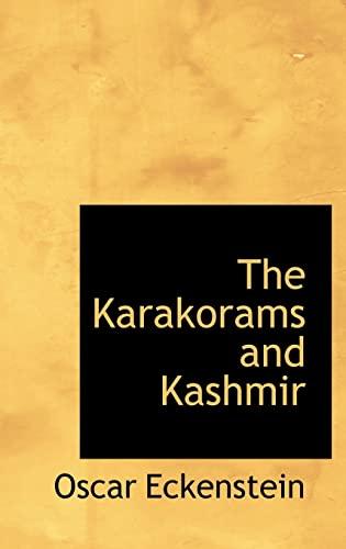 9781110862061: The Karakorams and Kashmir