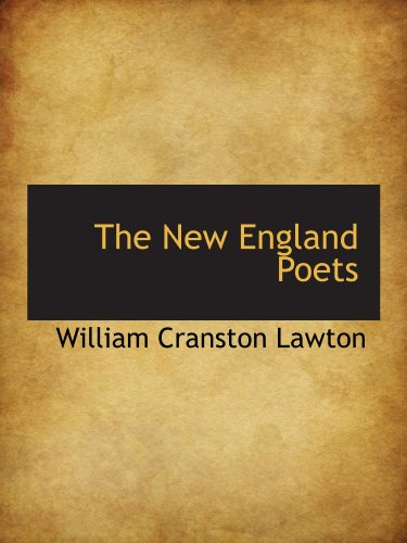 9781110880362: The New England Poets