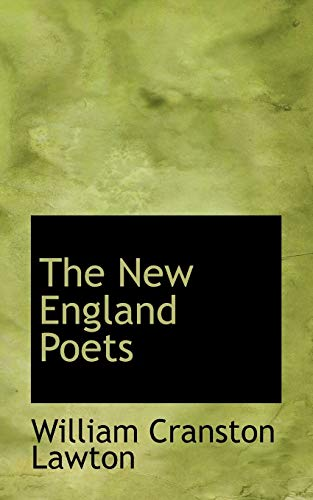 9781110880386: The New England Poets