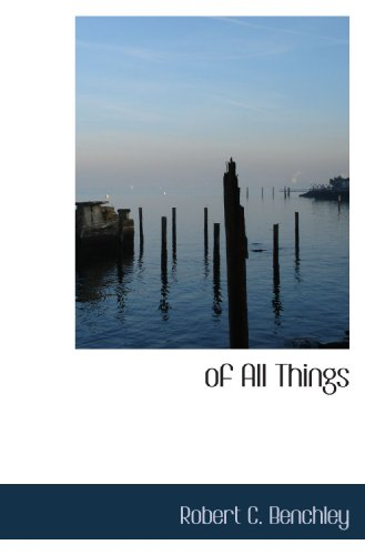9781110914494: of All Things