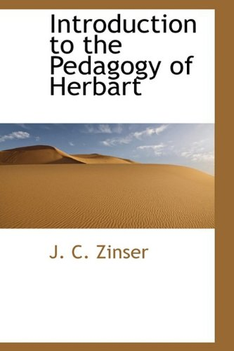 9781110916351: Introduction to the Pedagogy of Herbart