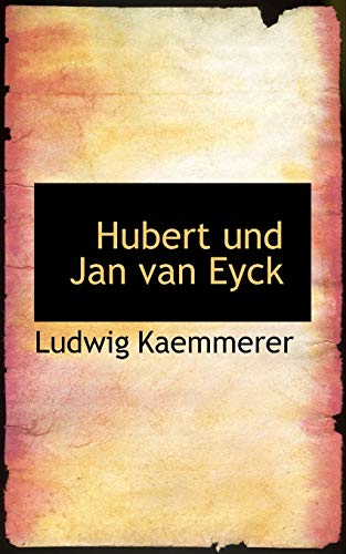 9781110976652: Hubert und Jan van Eyck (German Edition)