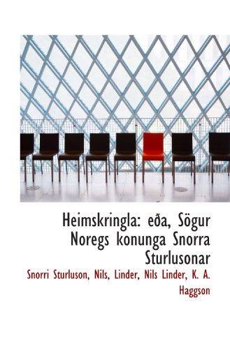 9781110997473: Heimskringla: eða, Sögur Noregs konunga Snorra Sturlusonar