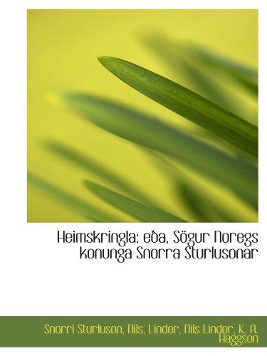 9781110997497: Heimskringla: eða, Sögur Noregs konunga Snorra Sturlusonar