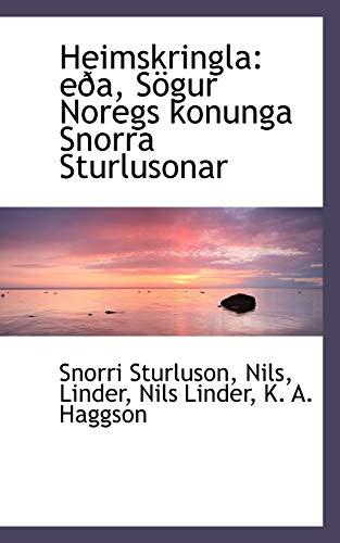 9781110997503: Heimskringla: eða, Sögur Noregs konunga Snorra Sturlusonar