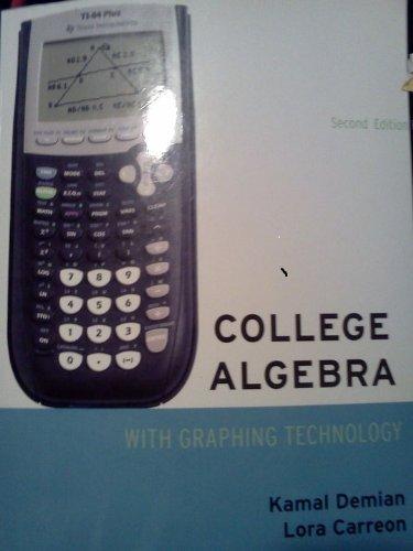 9781111000233: College Algebra