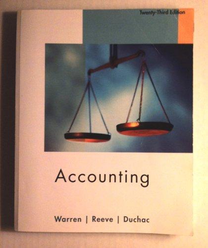 9781111001346: Accounting
