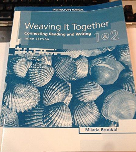 Weaving Together 1 2 Im: Broukal