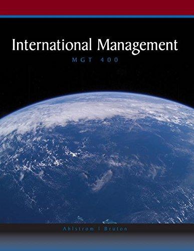9781111003661: INTERNATIONAL MANAGEMENT >CUST
