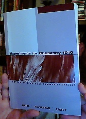 9781111004491: Experiments for Chemistry 1010 [Custom Editon for Southwest Tennessee Community College]