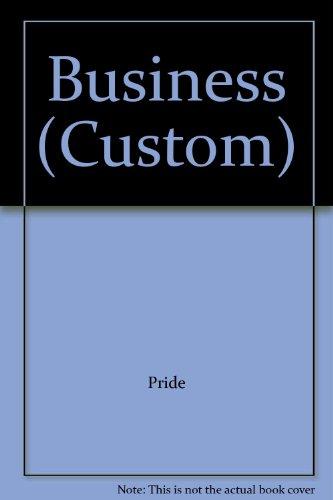 9781111005320: Business (Custom)