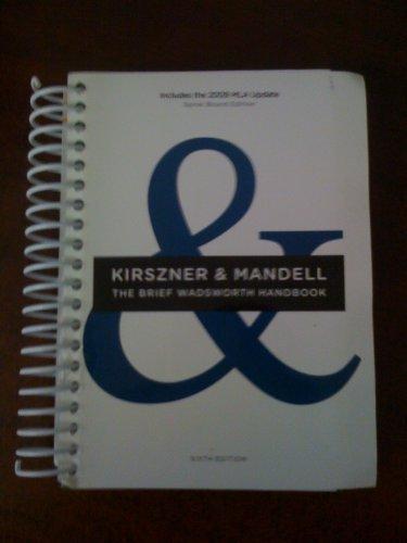9781111005399: The Brief Wadsworth Handbook (Includes the 2009 MLA update)