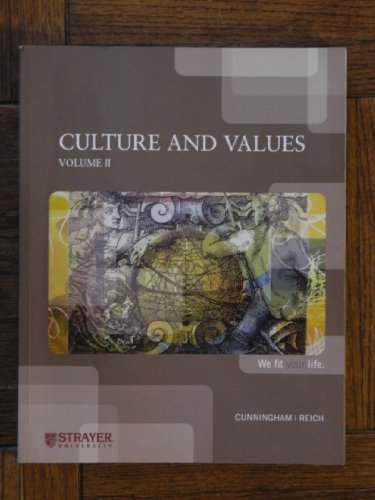 HUM 100: Culture and Values, Vol. 2: Lawrence S. Cunningham
