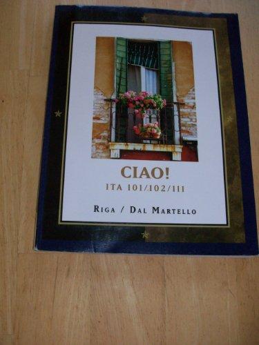 9781111007386: CIAO! Italian ITA 101/102/111 Custom Edition