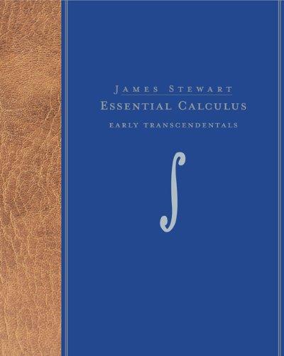 Bundle: Essential Calculus: Early Transcendentals + Enhanced: Stewart, James
