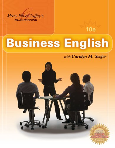 9781111026073: Bundle: Business English (with MEGUFFEY.COM Printed Access Card), 10th + Partial Student Key