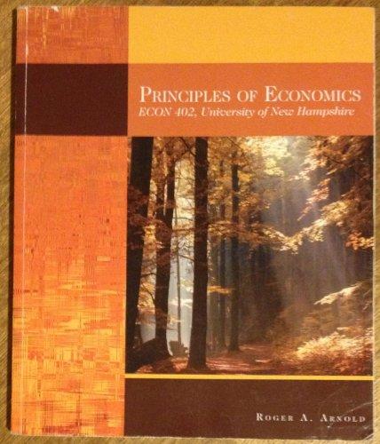 9781111030056: Principles of Economics (University of New Hampshire Custom Edition, ECON 402)