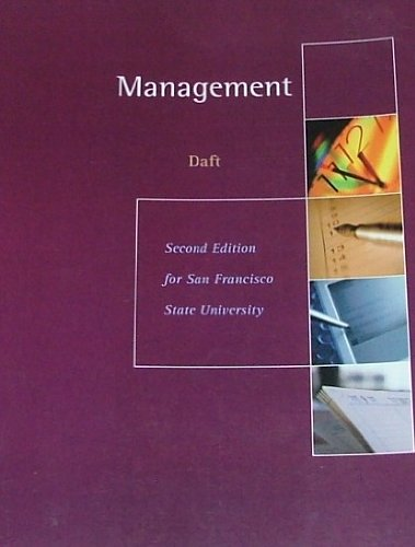 9781111030117: MANAGEMENT 2nd Edition for San Francisco State University