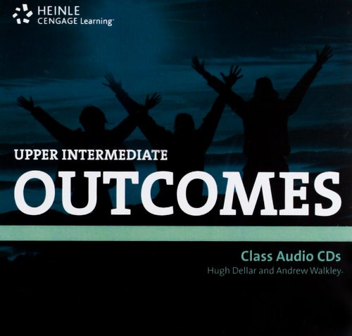 9781111032470: Outcomes Upper Intermediate Class Audio CDs