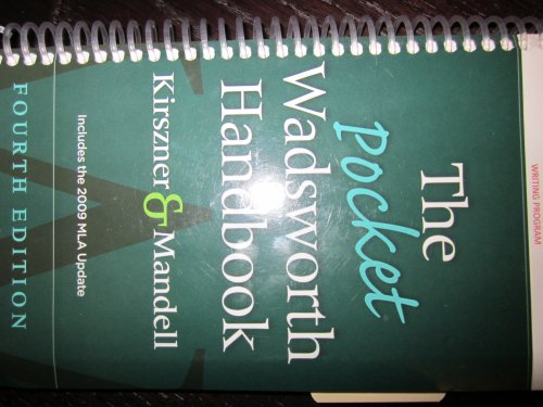 The Pocket Wadsworth Handbook: Laurie G. Kirszner,