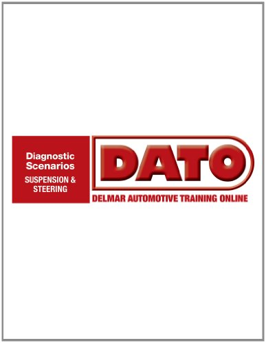 9781111034832: DATO: Diagnostic Scenarios for Suspension/Steering - Cengage Learning Hosted Printed Access Card (Automotive Multimedia Solutions)